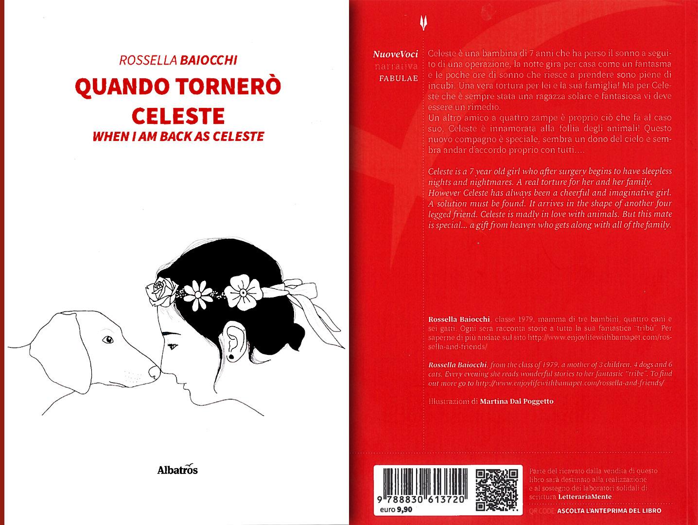 Quando tornerò Celeste, il nuovo libro di Rossella Baiocchi